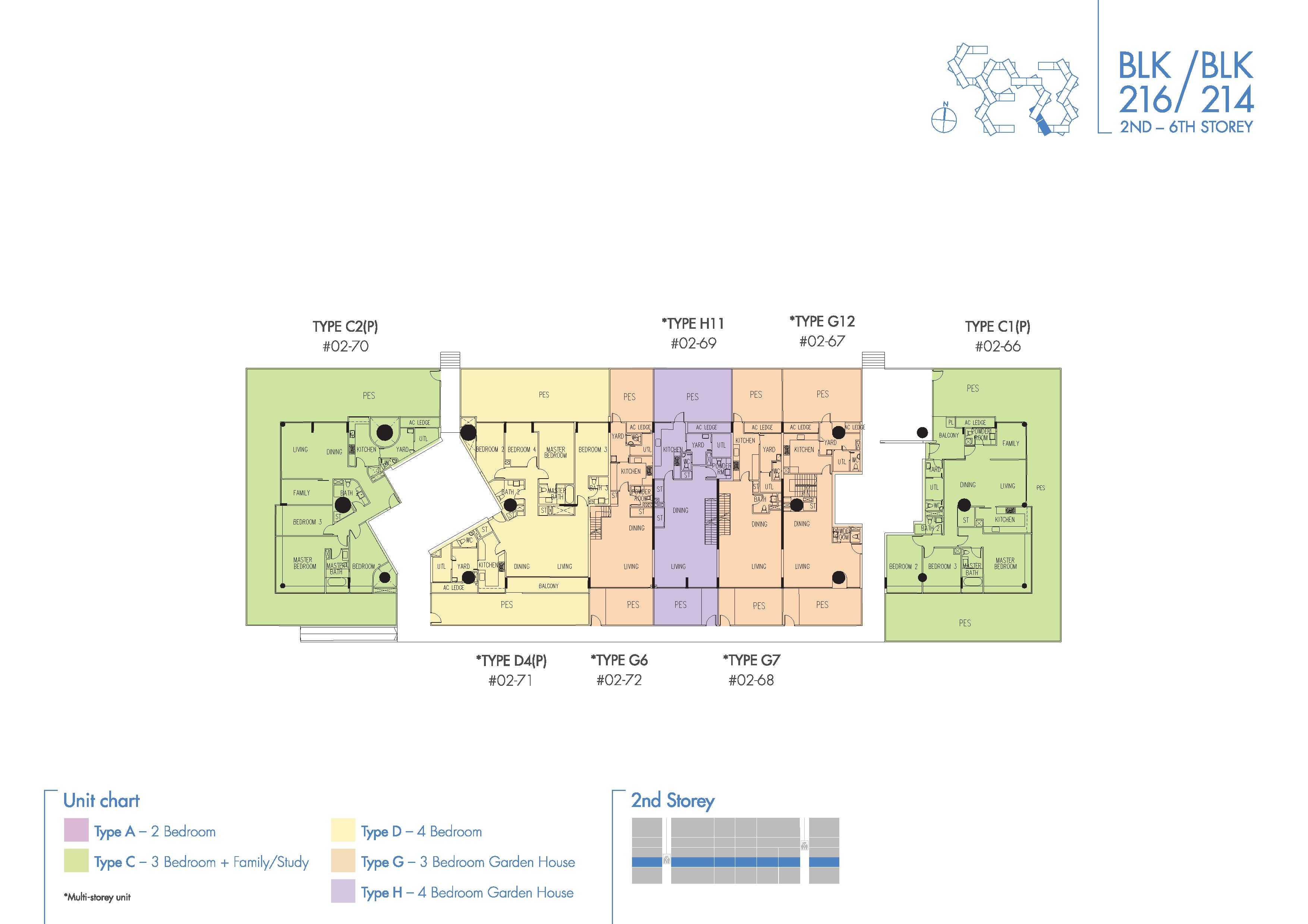The Interlace Floor Plan